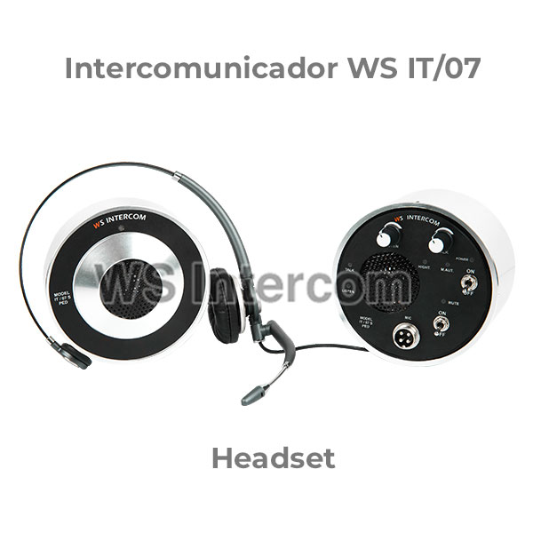Intercomunicador Headset - WS Intercom