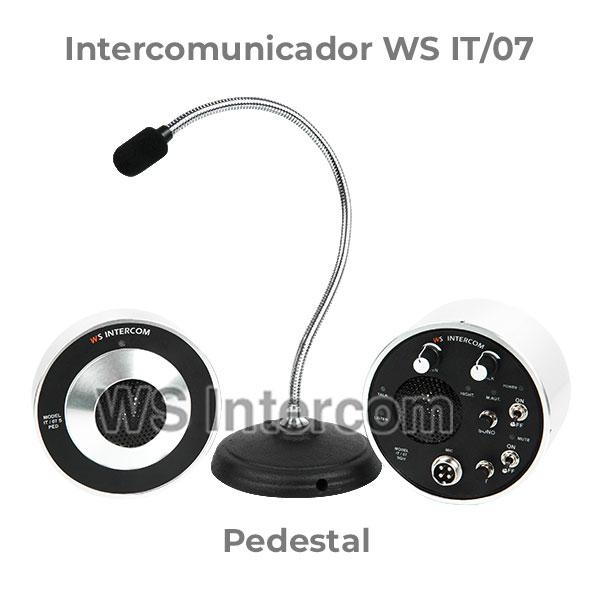 Intercomunicador Pedestal - WS Intercom