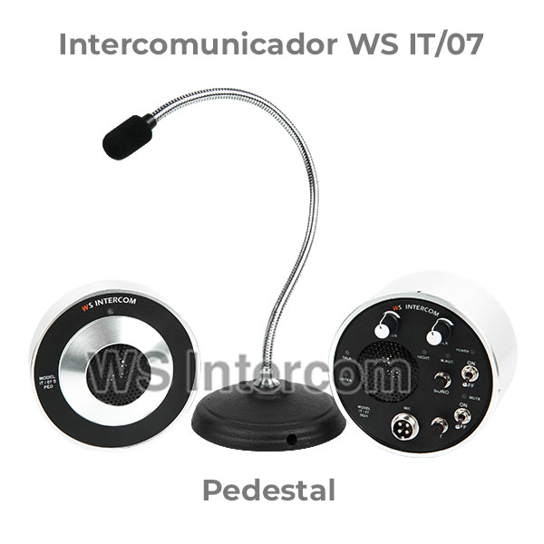 Intercomunicador Pedestal - WS Intercom
